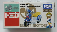 Disney Motors Bike Taxi ChimChim DONALD DUCK Tomica ASIA LIMITED - Takara Tomy