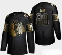 Chicago Blackhawks Patrick Kane 88 Golden Edition Jersey new