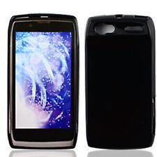 For Motorola Electrify 2 XT881 TPU CANDY Flexi Gel Skin Case Cover Glossy Black