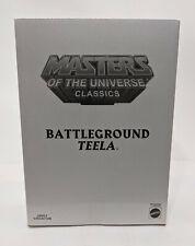 MOTUC Masters of the Universe Classics Battleground Teela Action Figure MOC