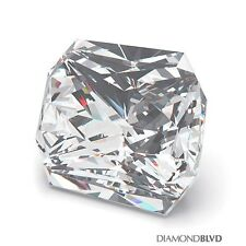 1.53 Carat H/VS2/Ex Cut Square Radiant AGI Earth Mined Diamond 6.75x6.10x4.19mm