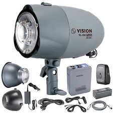 Neewer VL-300 Plus AC/DC Dual-Power Support 300W GN65 Strobe Studio Flash