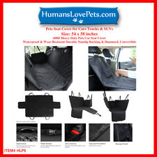 New listing Pet Seat Cover Car Seat Cover for Pets 100% Waterproof Pet Seat Cover Hammock