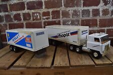 ERTL Chrysler Motors Genuine Parts and Shell Rotella T Toy Semi Truck