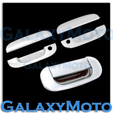 94-01 Dodge Ram Triple Chrome 2 Door handle W/Passenger Keyhole +Tailgate cover