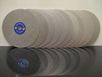"8"" INCH Grit 60 Diamond coated Flat Lap wheel Jewelry Grinding Sanding disc disk"