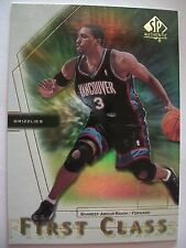 2001 SP AUTHENTIC FIRST CLASS SHAREEF ABDUR-RAHIM !! BOX 1