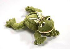 Althans Frosch aus Plüsch liegend ca. 28 cm