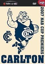 AFL - 2007 NAB Cup Winners - Carlton (DVD, 2007) region 0