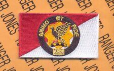 1st Cavalry Brigade ACR ANIMO ET FIDE w/ dui square crest beret flash patch