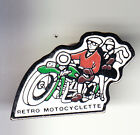 RARE PINS PIN'S .. MOTO MOTORCYCLE CLUB TEAM RETRO MOTOCYCLETTE FRANCE ~BN