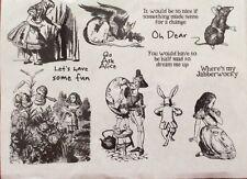 Alice In Wonderland. Go Ask Alice. Unmounted Stamp Set. NEW.