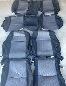 2011-2022 Toyota 4RUNNER SR5 / TRAIL (POWER driver) OEM cloth seat covers