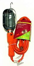 110V 125V Trouble Drop Work Shop Light 15' w/ Outlet Inspection Lamp Garage 3429