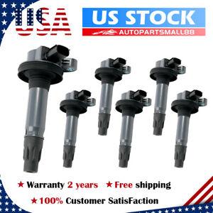 6Pcs Ignition Coils UF553 for Ford T-150 Lincoln Mazda 3.7L 3.5L V6 DG520