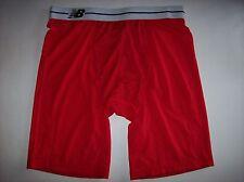 "New Balance Underwear Mens Compression Sport Brief 9"" Red Sz Large NWOT"