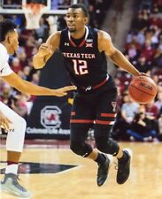 KEENAN EVANS TEXAS TECH RED RAIDERS BASKETBALL  8X10 SPORTS PHOTO (LL)