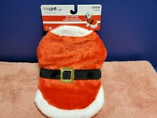 Imagin8 Christmas Santa Dog Costume. Winter Christmas Santa Dog Sweater Sz Small