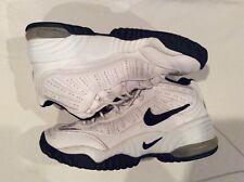 Nike Men's Vintage White Hightop Basketball Shoes, size 9