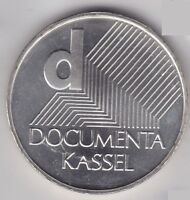 Frg Silver Coin 2002 J Documenta Kassel, Commemorative Coin, Gemany Coin
