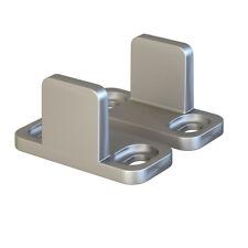 Silver Floor Guide for Sliding Barn Door Hardware Aluminum Set of 2