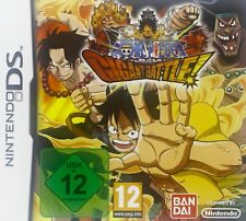 Nintendo DS One Piece Gigant Battle Action Adventure Wi-Fi Verbindung 20 Figuren