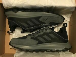 Adidas Response Trail Black Wide Fit Running Shoes New in Box UK 8.5