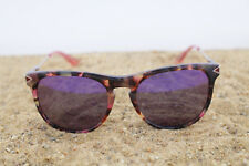 Paul Frank Designer gafas de sol 216 Tort Rose 52 18-140 nuevo marrón rosa