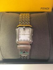 FENDI Orologi Diamond Dial, Buckle, Sapphire Crystal, SS Ladies Watch