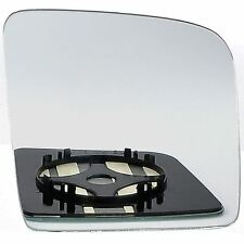 Right Driver Side WING DOOR MIRROR GLASS Ford Transit Connect 2002-2009 Clip On
