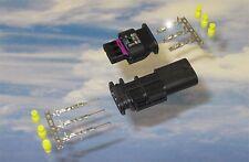 Steckverbindung 4F0973703 je. 6x MCON Kontakt 6x Dichtungen für PDC VW Audi Seat