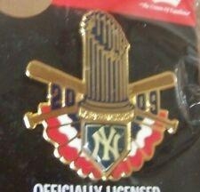 2009 NY New York Yankees WS World Series Champions pin MLB lapel champs