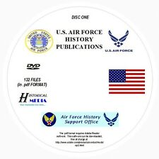 U.S. AIR FORCE HISTORY PUBLICATIONS COLLECTION - 132 FILES 5GB ALL ON 2 PDF DVDs