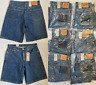 Levis Mens 550 Relaxed Fit Denim Shorts 34, 38, 40, 42, 44