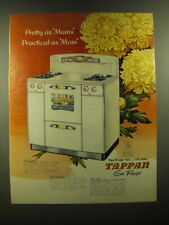 1950 Tappan Gas Range Ad - Pretty as Mums practical as Mom