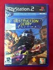 Destruction Derby Arenas carreras de coches para la Sony PS2 usado completo