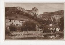 Lion Rock & Lake Cheddar Vintage RP Postcard 633a
