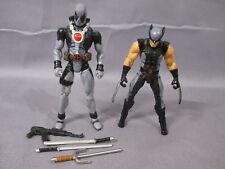"Marvel Universe ""DEADPOOL & WOLVERINE"" Complete X-Force Action Figures 2010"