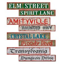 Halloween Street signs - 8 Designs Party decoration