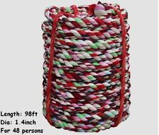 """Tug Of War Rope 1 1//2/"""" Diameter Adult Size 1.5/"""" Poly Pro Heavy Duty Any Length"""