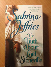 The Truth about Lord Stoneville 1 by Sabrina Jeffries (2010, Paperback) s#4352
