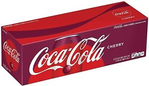 Coca Cola Cherry 12 Pack Of 355Ml Cans ( BBF NOV 29.2021)