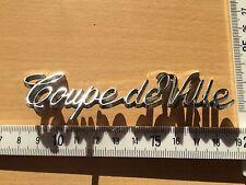 Cadillac 1977- 1985 Coupe DeVille Ornament Emblem Script 1978 1979 1982 1983 84