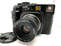 ✈FedEx【Nr MINT CLA'd】Mamiya 7 II Black Film Camera + N 80mm F4L Lens From Japan