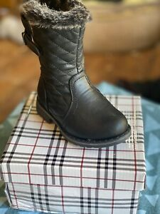 Children's infants girls warm High boots