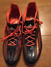Adidas Adizero 5 Star 4.0 Low Football Cleats Sz 15 Navy Blue/orange