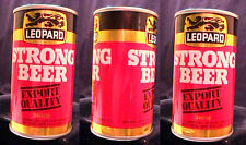 LEOPARD STRONG BEER - MID 1970'S - 340ML PULL TAB CAN - HASTINGS NEW ZEALAND