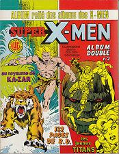ALBUM  RELIE SUPER X-MEN N° 1 COLLECTION SUPER HEROS ED LUG (VOIR DESCRIPTION)
