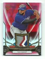 Prince Fielder Texas Rangers 2016 Topps Tribute Game-Used Patch Card 1/5