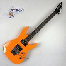 ESP Ltd M-50FR ELECTRIC GUITAR in Neon Orange - HH Pickups With Floyd Rose